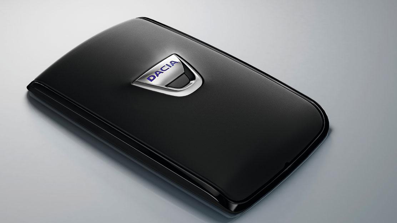 Hands-free karta Dacia pro bezklíčové odemykání a startování