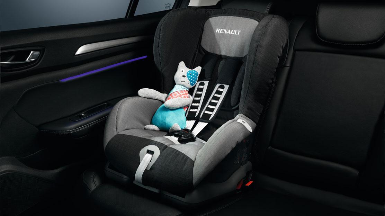 Кріплення ISOFIX для встановлення дитячого сидіння