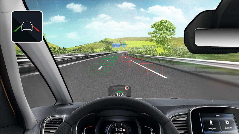 Sistem LKA - pomoč pri ohranjanju voznega pasu