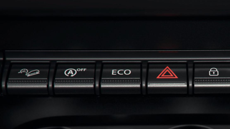 Sistema ECO Mode, con Stop&Start, e indicador de cambio de velocidades