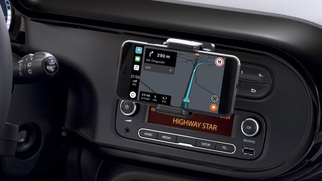 Ondersteuning Android Auto en Apple CarPlay