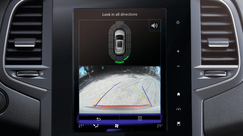 Передній і задній датчики паркування, камера заднього виду