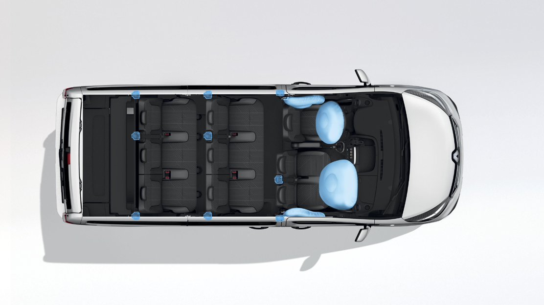 Airbag frontal lado conductor +  pasajero
