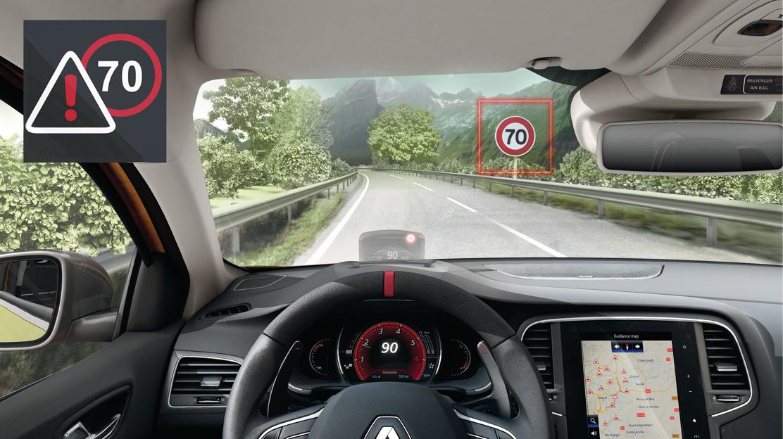 Alerta de exceso de velocidad con reconocimiento de señales de tráfico (para R-Link)