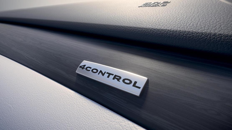 Telaio 4 Control con 4 ruote sterzanti