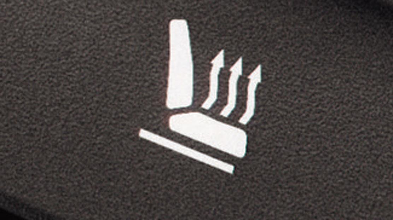 Sedili anteriori riscaldabili