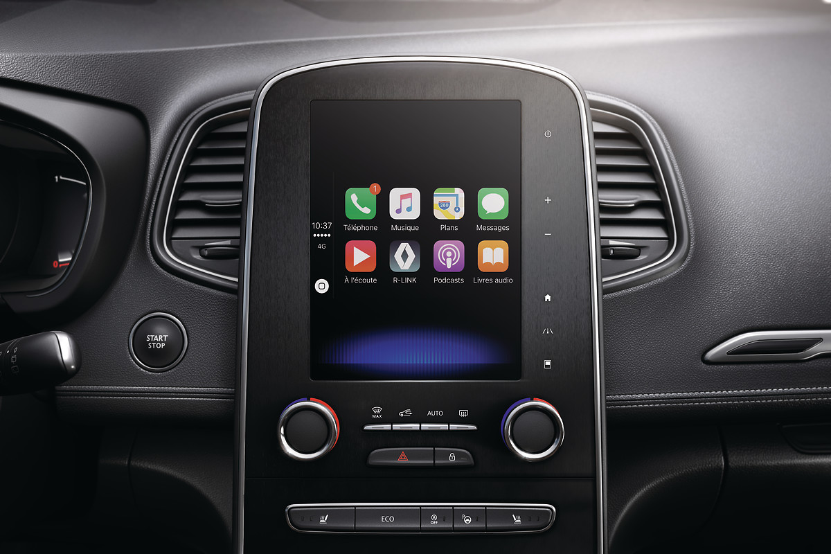 Compatible avec Android Auto™ & Apple CarPlay™