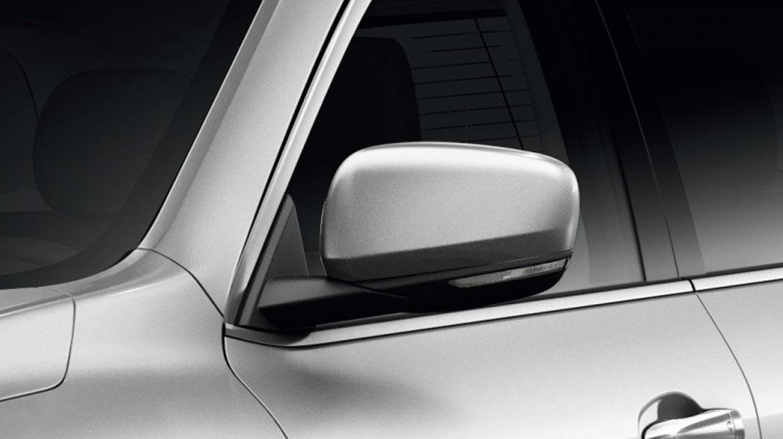 Außenspiegel elektrisch einstellbar, anklappbar und beheizbar