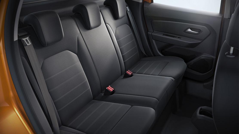 3 x 3 point rear seatbelts