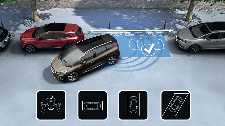 Sensor de aparcamiento trasero