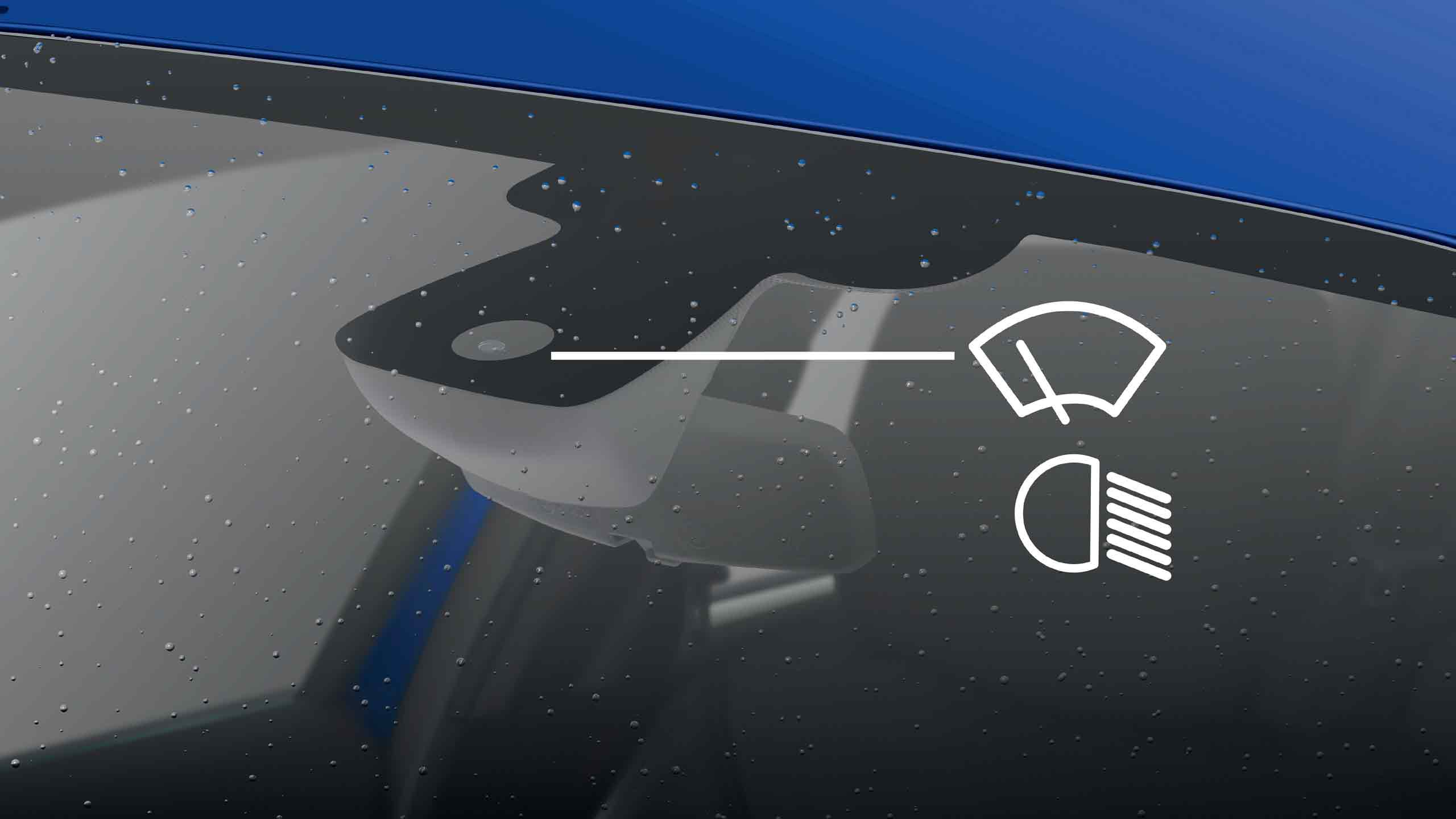 Automatic windscreen wipers (must be purchased with front fog lights)
