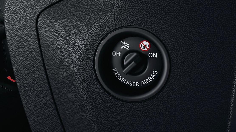 Airbag passager désactivable