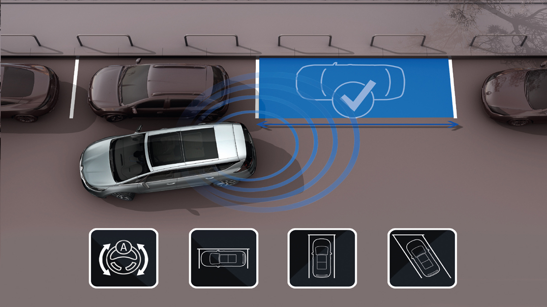 """Einparkassistent """"Easy Park Assist"""""""