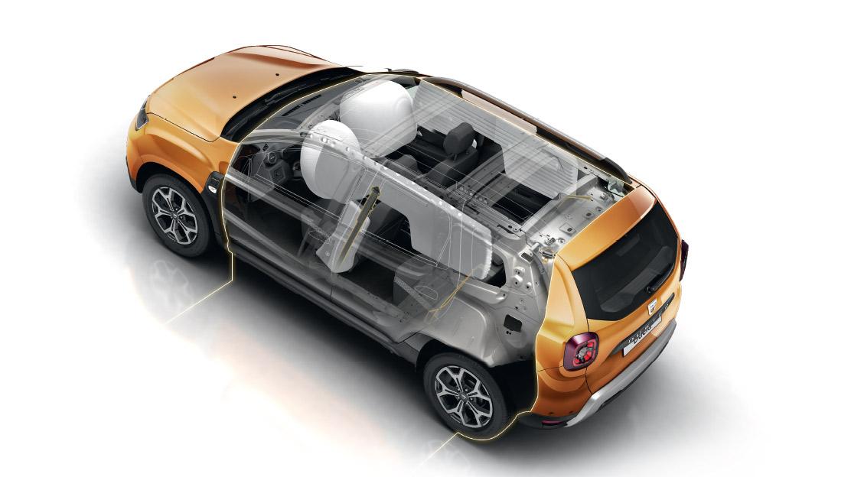 Frontairbags Fahrer- und Beifahrersitz