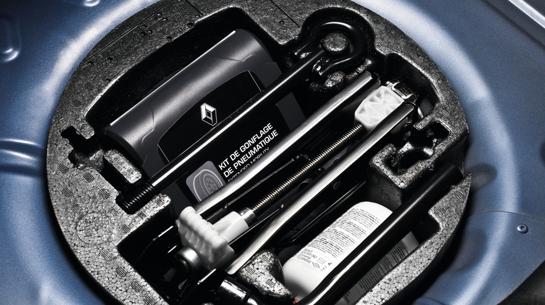 Kit de regonflage des pneus avec compresseur
