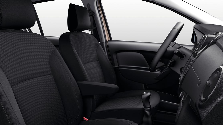 Fahrersitz in der Höhe verstellbar