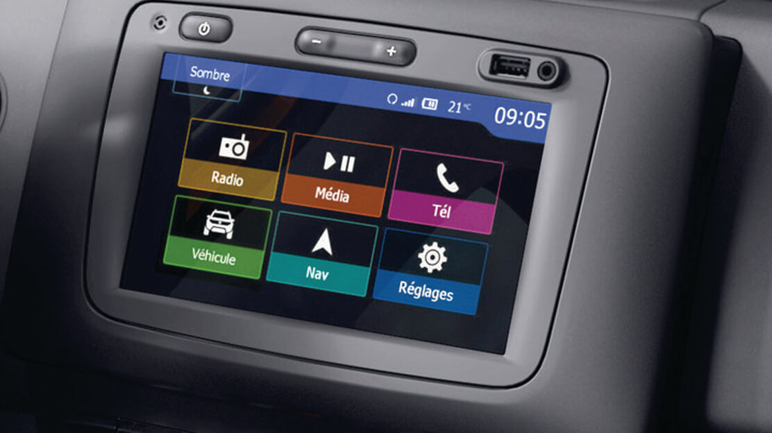 Media Nav Evolution (navigation, radio, USB, Bluetooth, Android Auto™ & Apple Carplay™)