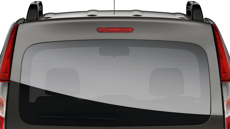 Portellone posteriore vetrato