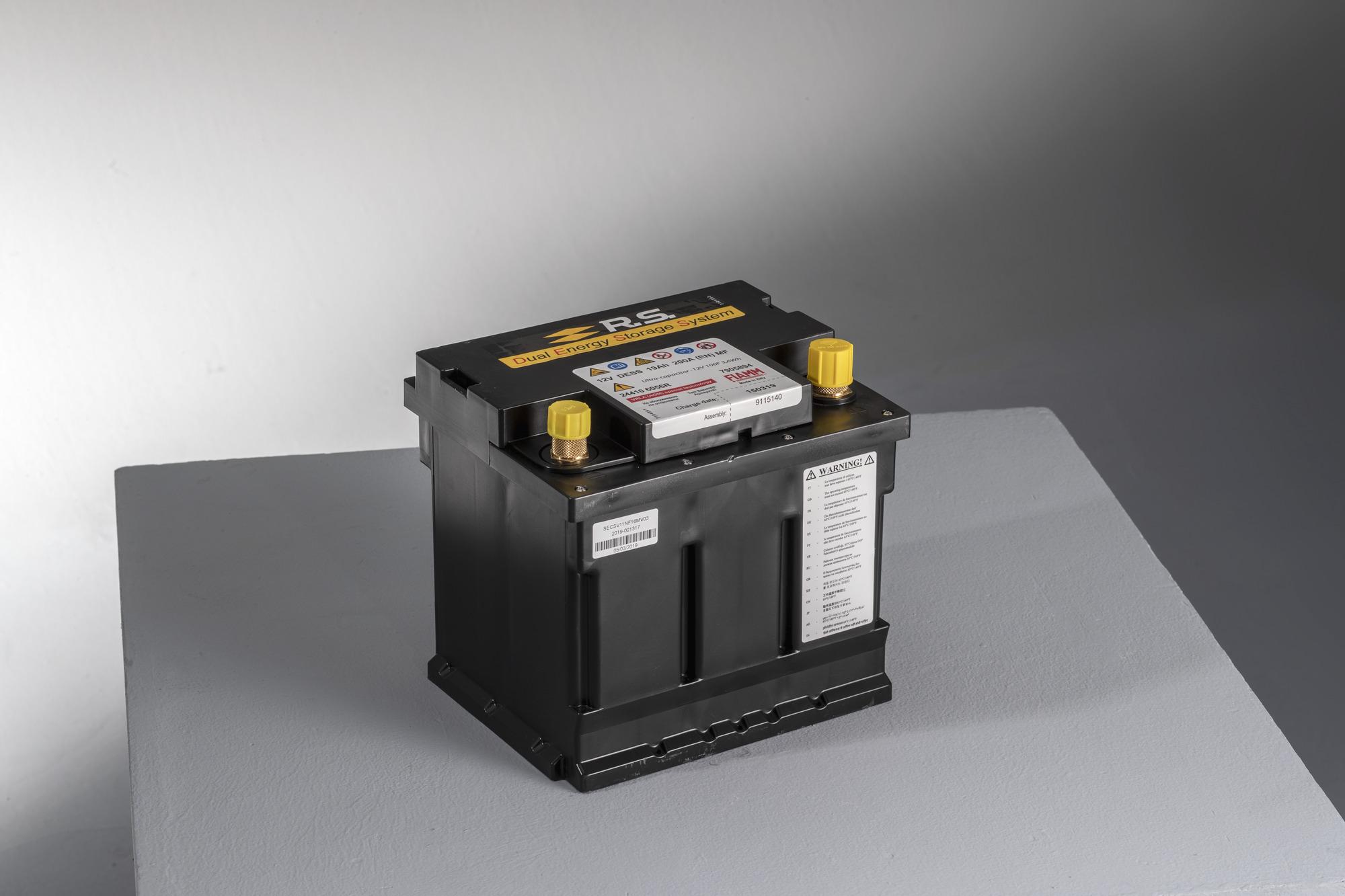 Akumulator sportowy DESS