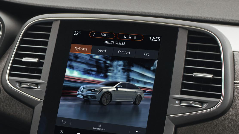 MULTI-SENSE: Individuelle Einstellung der Fahrzeugcharakteristik