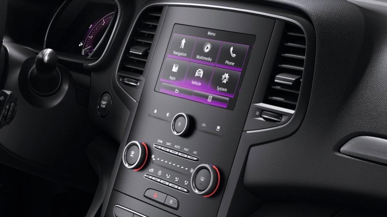 """Bluetooth® DAB rádió 2 USB, Jack, 7"""" kapacitív érintőképernyő, Arkamys® hangrendszer"""