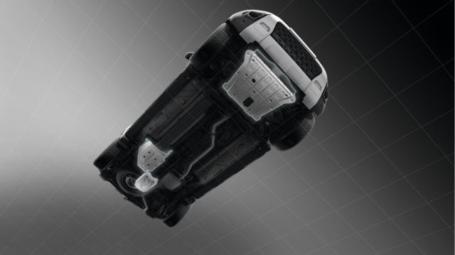 Pachet protecție sub caroserie (Motor - Cutie de transfer - Rezervor carburant)