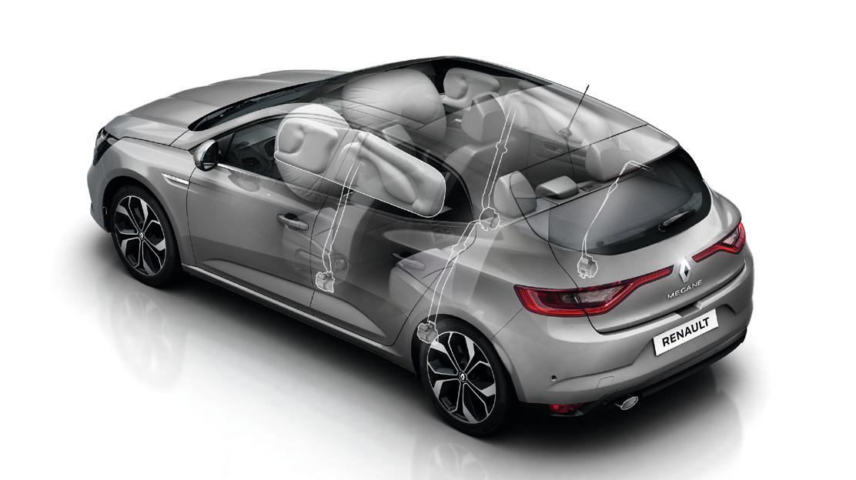 Čelný airbag na strane vodiča a spolujazdca