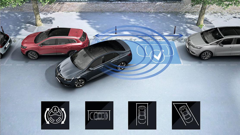 Передній, задній парктроніки+камера заднього виду + автоматична допомога паркування
