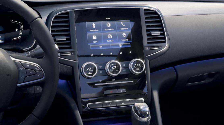 """Renault EASY LINK : système multimédia avec radio numérique DAB sur écran tactile 7"""", compatible And"""