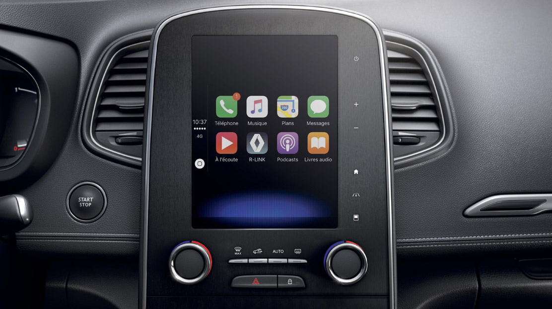 Smartphone-Integration via Android Auto und Apple CarPlay