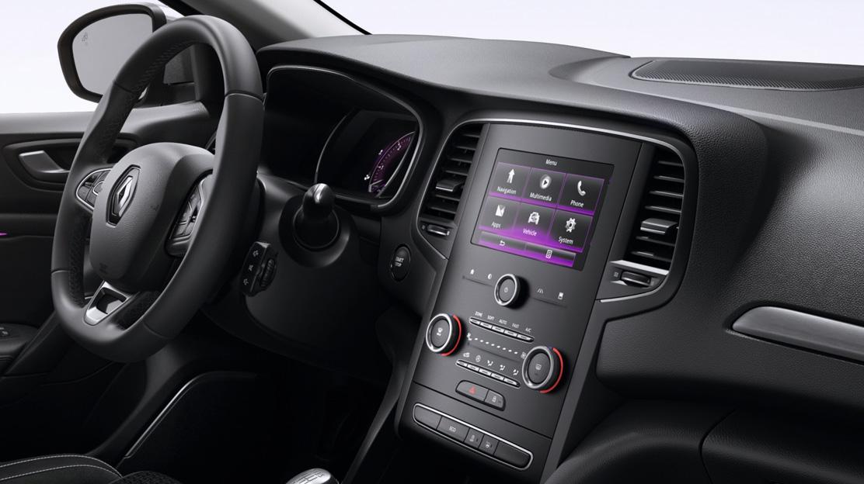 """Multimediasystem mit 7"""" Touchscreen, Sprachsteuerung, 2 USB, SD- und AUX-Eingang, Freisprecheinr."""