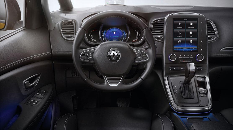 Systém Renault Multi-Sense® (5 režimov nastavenia celého vozidla)