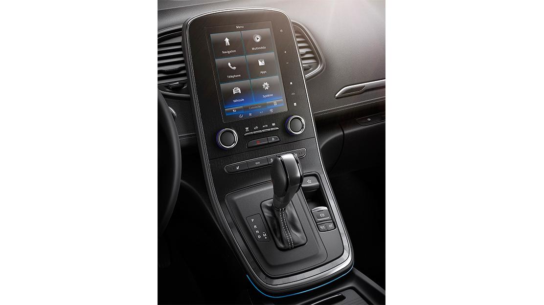 Sistema Renault MULTI-SENSE com iluminação ambiente (personalização da condução)