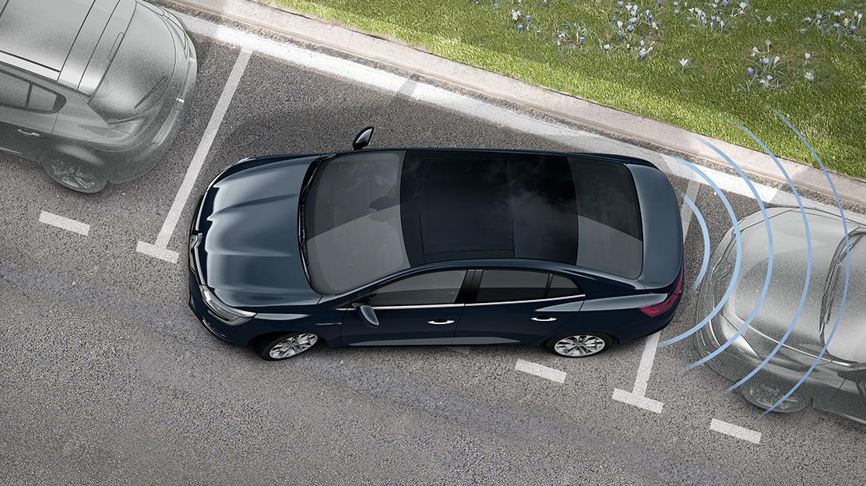 Sistema de ajuda ao estacionamento dianteiro