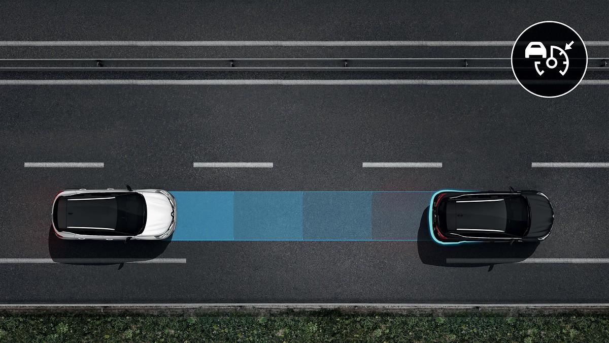 Pack Sécurité  (Conduite autonome de niv.1, régulateur de vitesse adaptatif)