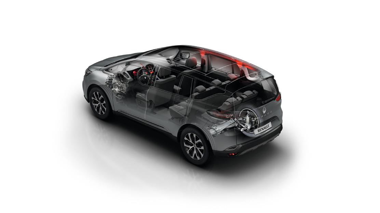 Renault Multi-sense con Ambient Lighting