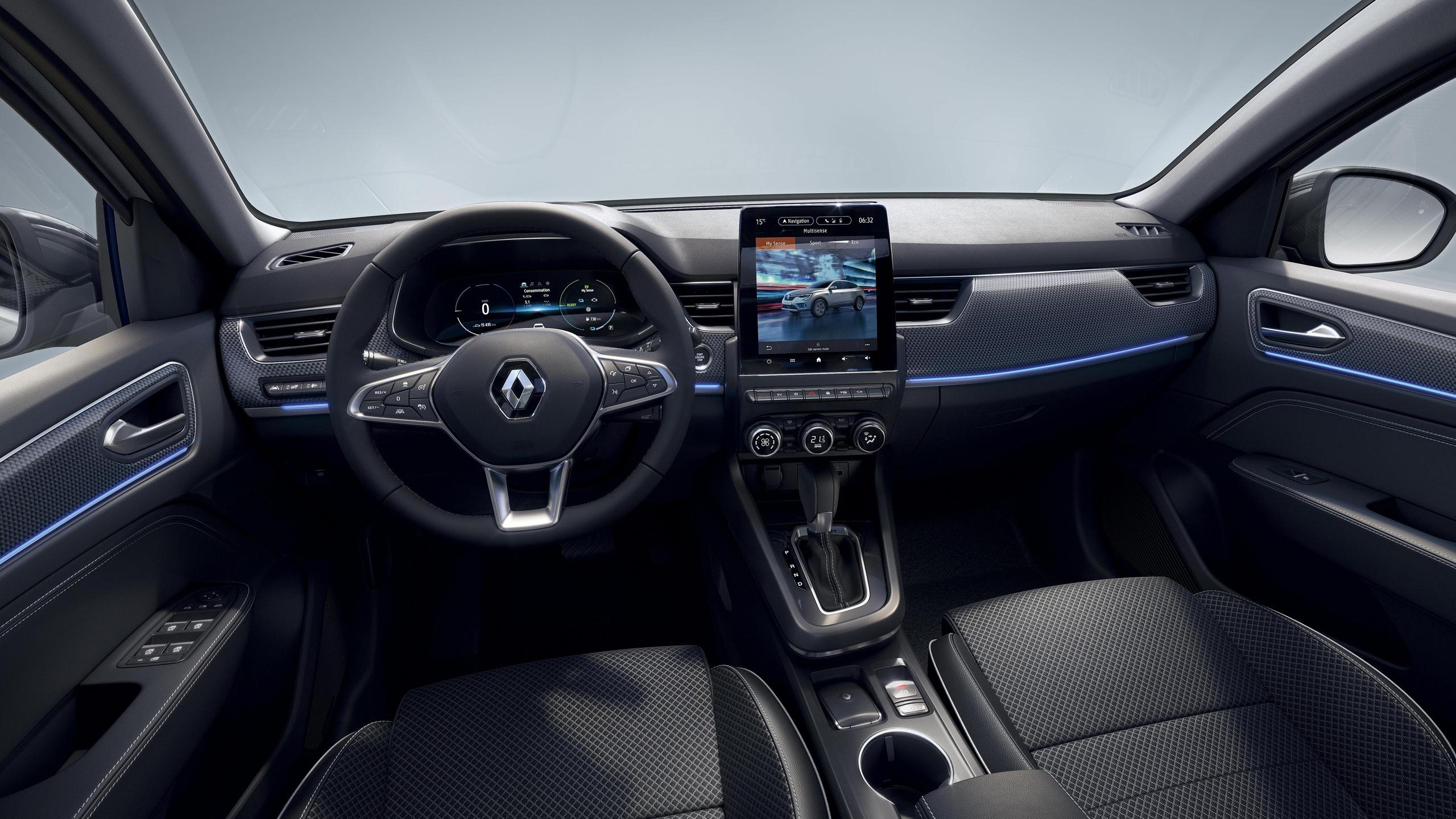 Renault Multi-Sense®, включваща 4 режима на автомобила: MySense, Eco, Comfort, Sport