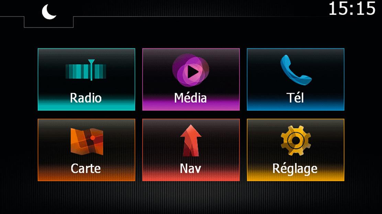 Multimediální a navigační systém Media Nav Evolution