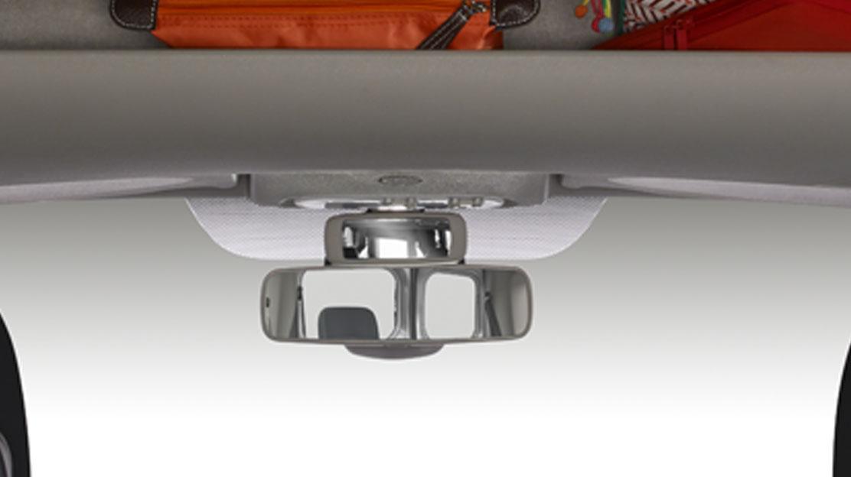 Retrovisore controllo sedili posteriori