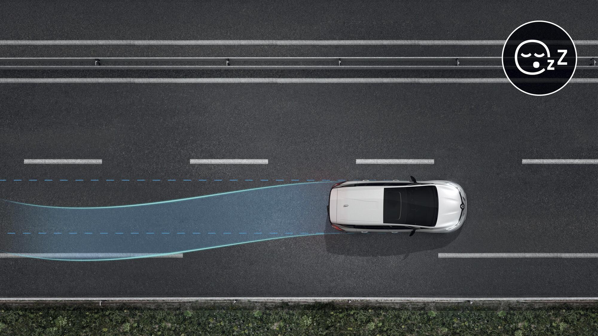 System kontroli zmęczenia kierowcy