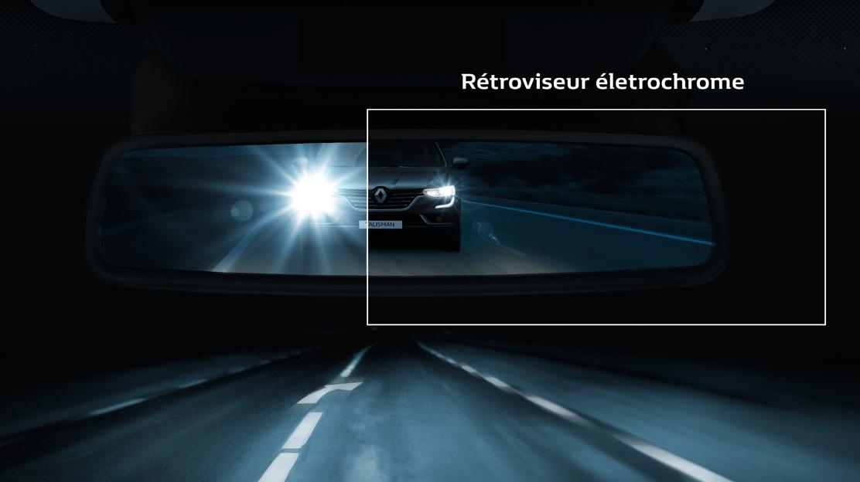 Електрохромно огледало за обратно виждане с автоматично затъмняване против заслепяване