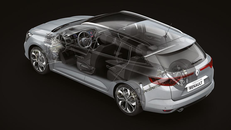 Sistema Renault MULTI-SENSE (personalização da condução)