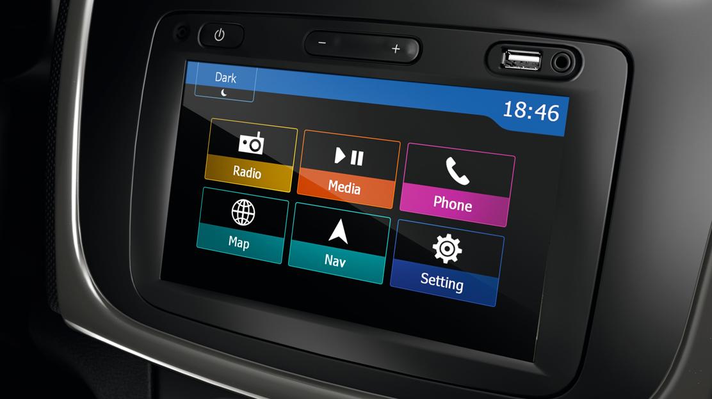 Media Nav Evolution (Navigace s traffic info, Rádio s ovládáním pod volantem, USB, Bluetooth)