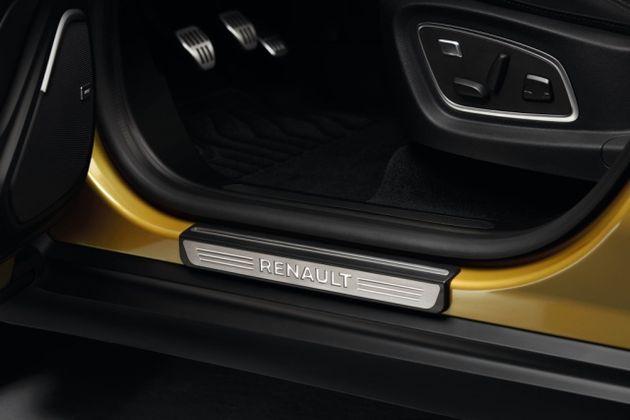 Einstiegschweller - Renault - Gebürstetes Aluminium