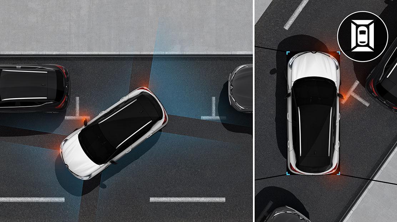 Sistema de ajuda ao estacionamento dianteiro - implica Câmara 360º