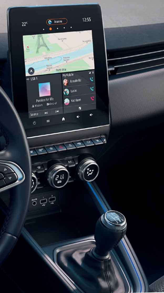 MULTI-SENSE system - Ambient lighting and driving mode selector