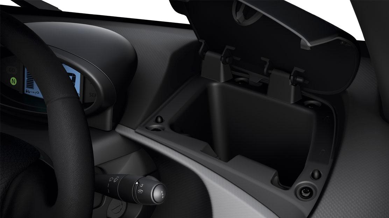 Beveiligd overbergvak in dashboard