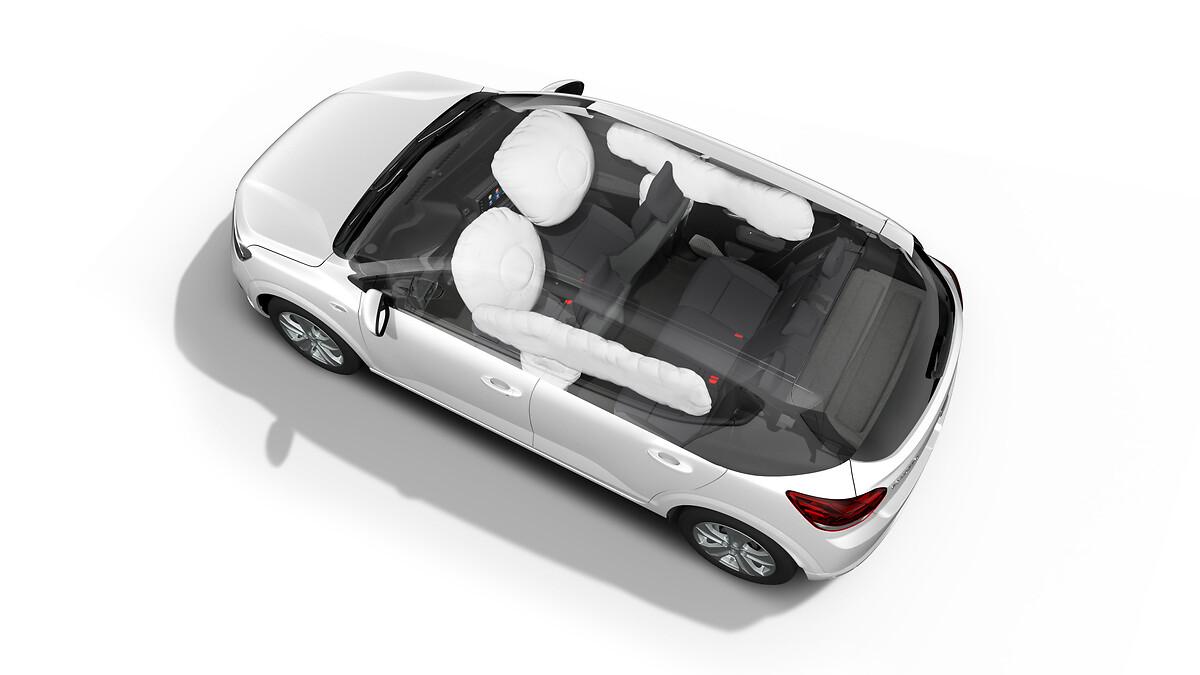 Čelna varnostna blazina za voznika in sovoznika