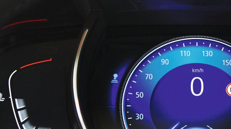 Indicador cambio de velocidad