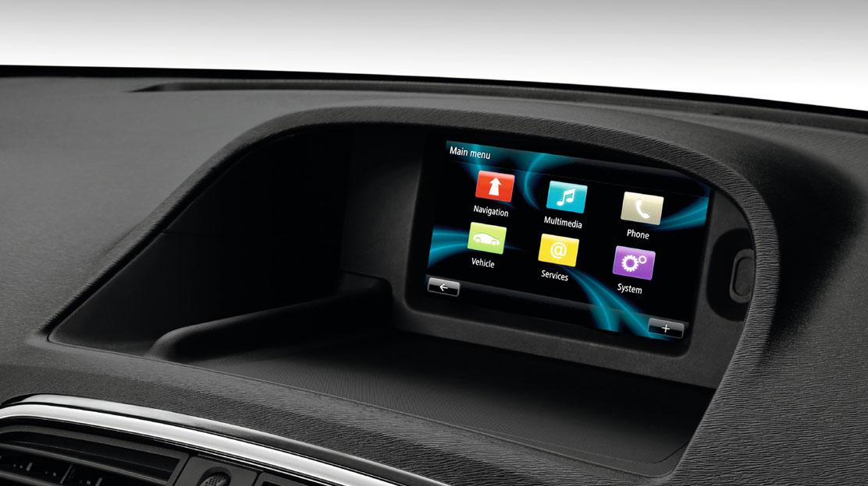 """Renault R-Link : tablette multimédia connectée avec écran couleur tactile 7"""""""